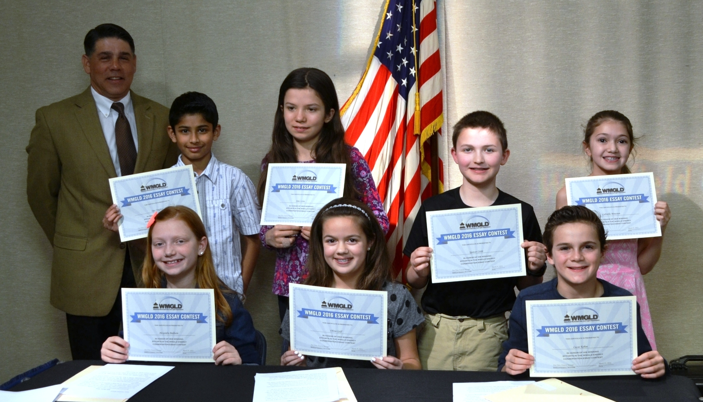 the wakefield municipal gas light department welcome to the wmgld held an awards ceremony for seven wakefield 5th grade students whose essays were selected as winners in the 8th annual wmgld energy conservation